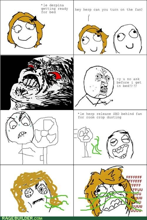 Rage Comics: Ask Me Before!!!