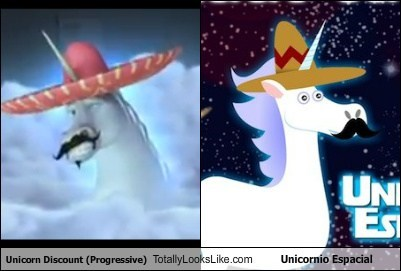 Unicorn Discount (Progressive) Totally Looks Like Unicornio Espacial