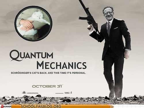 james bond,quantum mechanics 592,schrodingers-cat