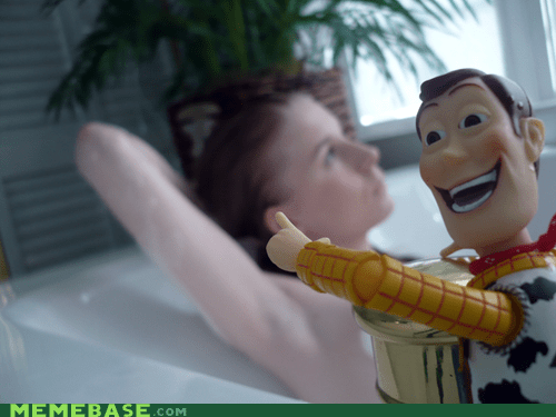 Creepy Woody Fun Bath Time