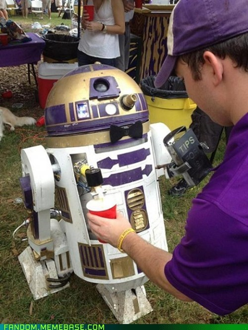 Tailgate Party Droid of the Day