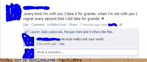 facebook,granite,puns,spelling