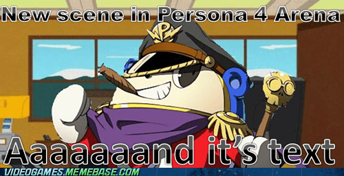 fighting,great game,meme,persona 4 arena,scene,text