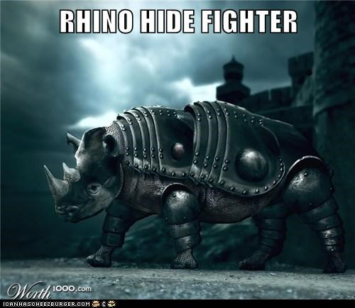 RHINO HIDE FIGHTER