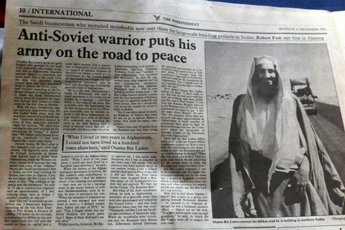 From The Archives: Osama bin Laden, ca. 1993