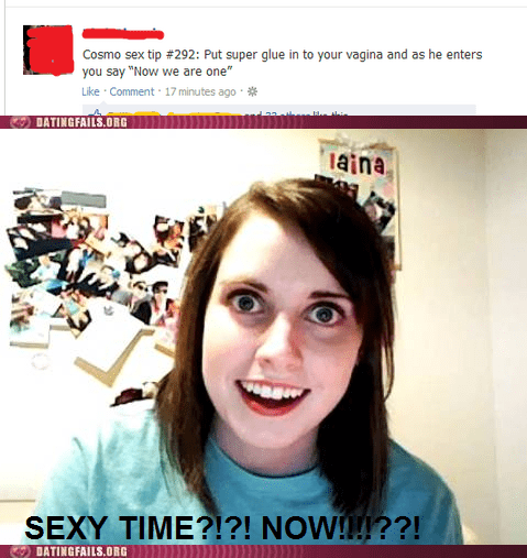 overly attached girlfrend,Reframe,glue in the who,sexy time,forever