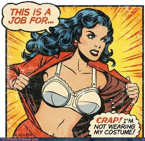 "Poorly Dressed: Is That a... ""Wonder Bra""?"