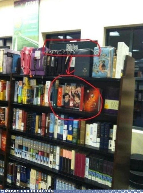 bibles,book store,one direction