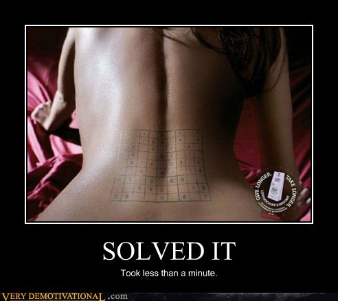 Sexy Ladies,sexy times,solved it,sudoku