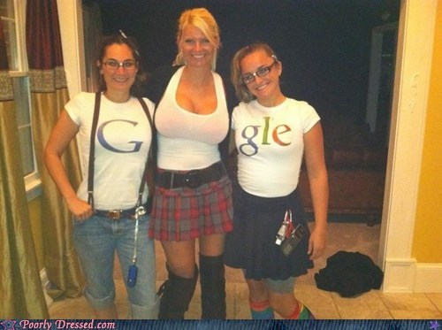 "Poorly Dressed: You Can't Spell ""Google"" Without Double Ds"