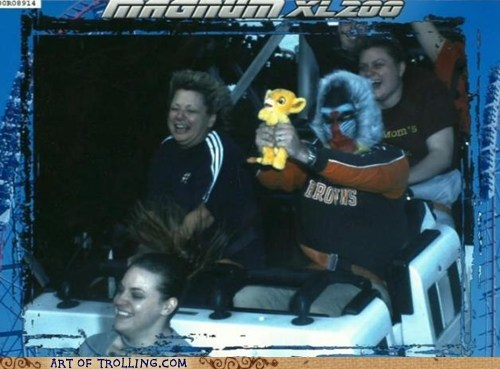 IRL,lion king,roller coaster