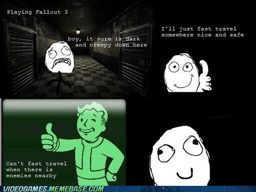 dark,fallout 3,fast travel