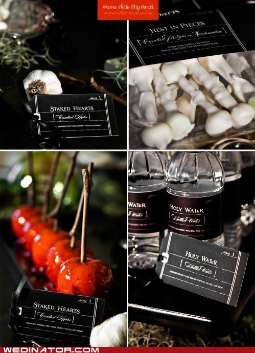 Wedinator: Spooky Halloween Wedding Decor