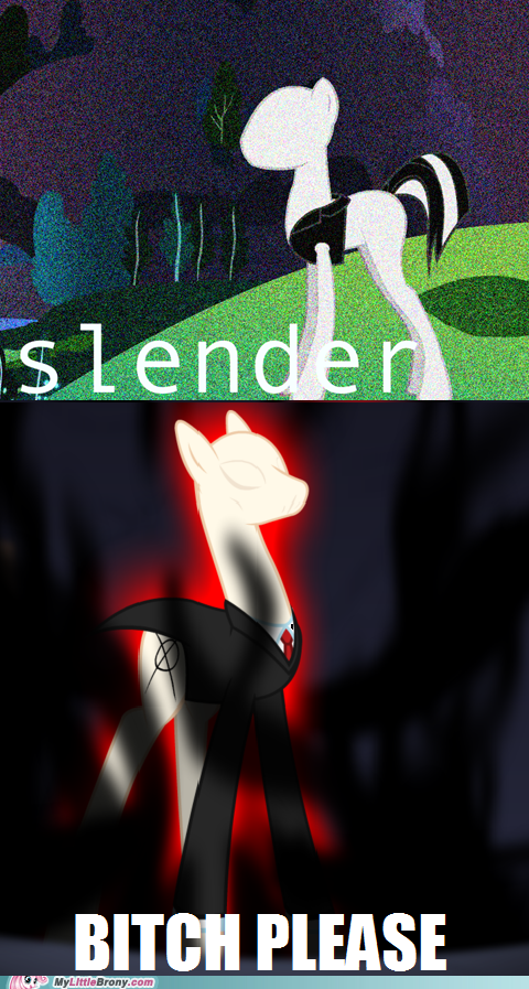 The Real Slenderpony