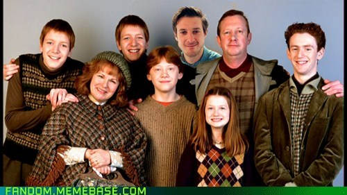 Fandom Base: Must Be a Weasley!