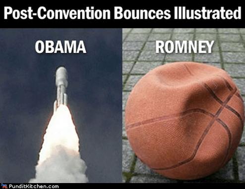 barack obama,basketball,bounce,conventions,illustrated,Mitt Romney,rocket