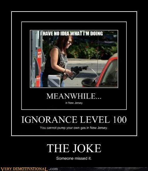 ignorance,joke,missed,New Jersey