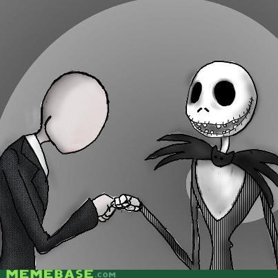 brohoof,jack skellington,nightmare before christmas,slenderman