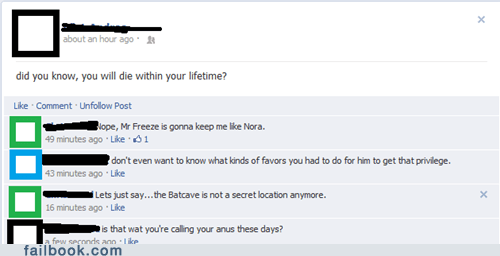 What Happens in the Batcave...