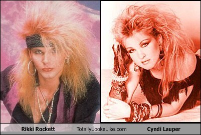 Rikki Rockett Totally Looks Like Cyndi Lauper
