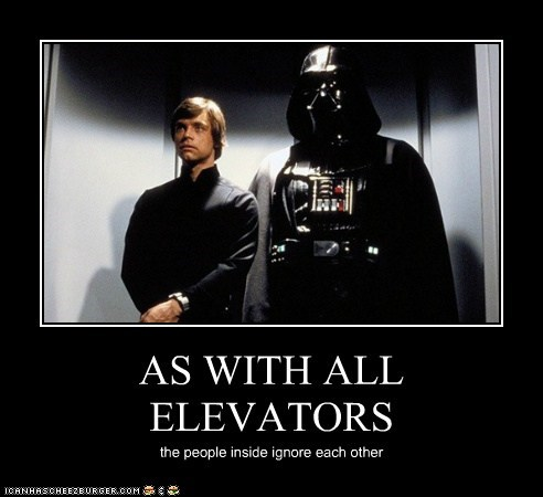 AS WITH ALL ELEVATORS