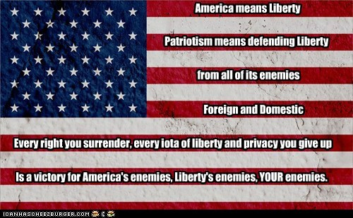 America Means Liberty