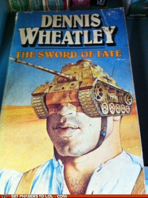 WTF Sci-Fi Book Covers: The Sword of Fate