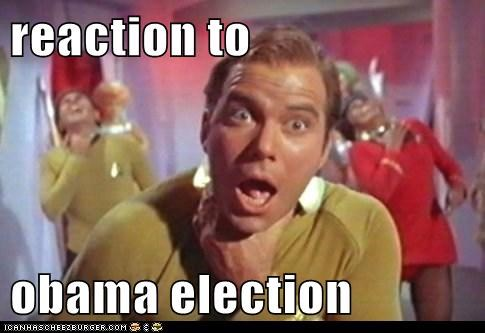 reaction to  obama election