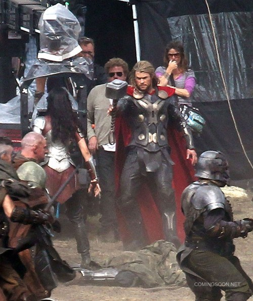 Thor 2 Set Photos of the Day