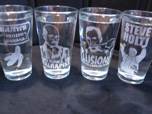 Arrested Development Glassware of the Day