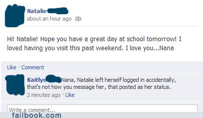 grandma,grandmothers,grandparents on facebook,nana