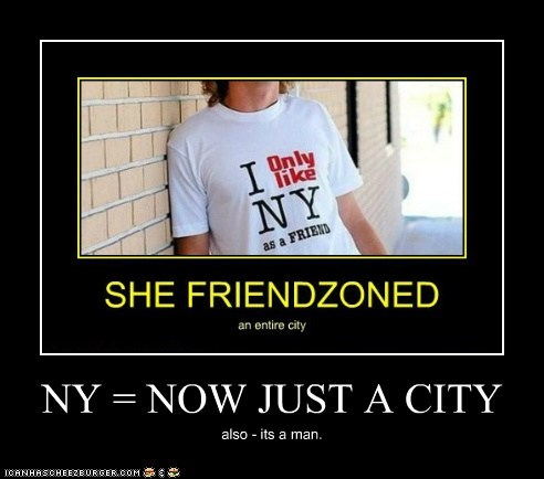 NY = NOW JUST A CITY