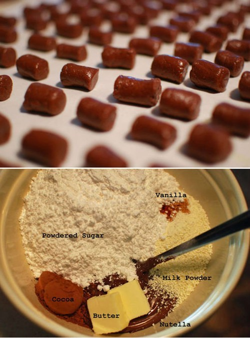 Nutella Tootsie Rolls of the Day