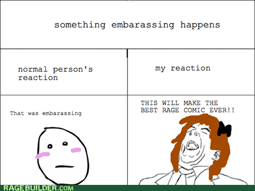 Rage Comics: Yes! I'm Such an Idiot!