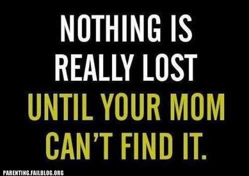 lost,mom