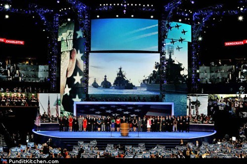 DNC Apologizes for Using Russian Warships at Convention