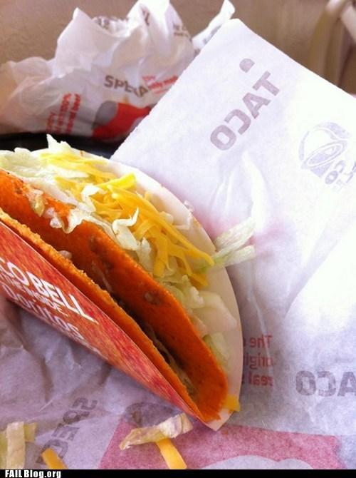 doritos locos tacos,food,missed,so close,taco,taco bell