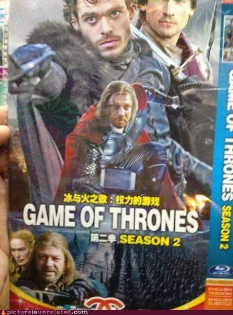Picture Is Unrelated: Game of Thors? Yep, Totally Legit