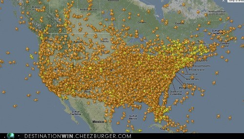 Tracking Flights All Over the World!