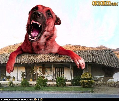 Clifford The Big Red Demon-Dog