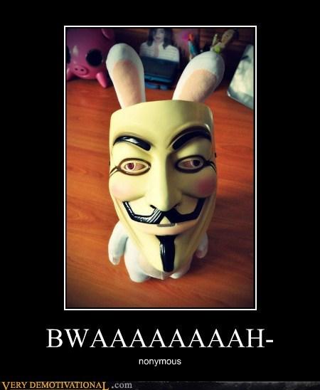 anonymous,mask,raving rabbids