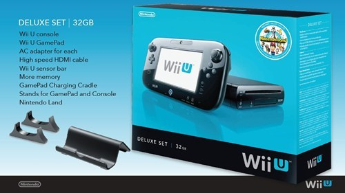 Wii U Launch Deets of the Day