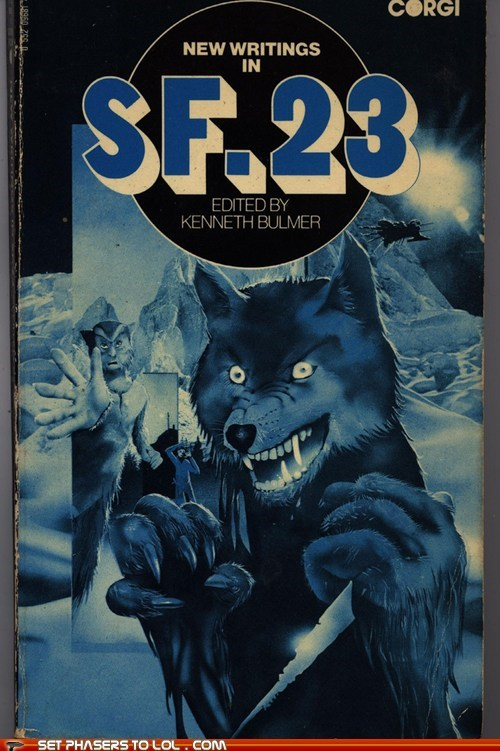 WTF Sci-Fi Book Covers: New Writings in SF. 23