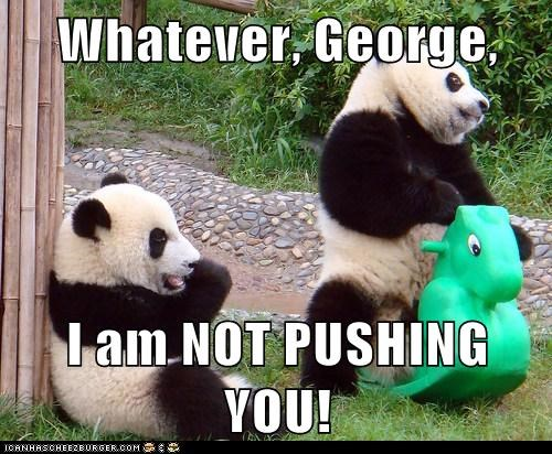 You're a Big Panda, Do It Yourself
