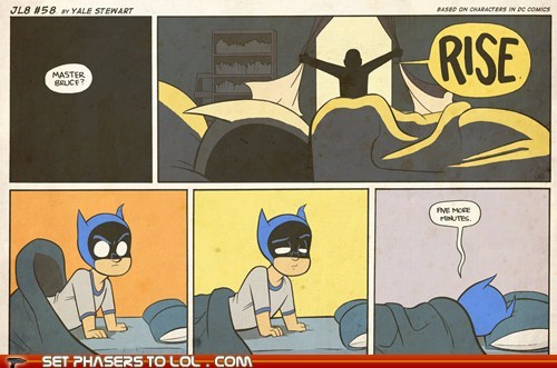 The Dark Knight Rises Eventually