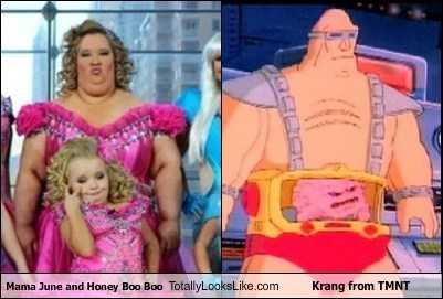 Totally Looks Like: Mama June and Honey Boo Boo Totally Looks Like Krang from TMNT