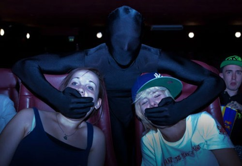 The Daily What: Movie Theater Ninjas of the Day