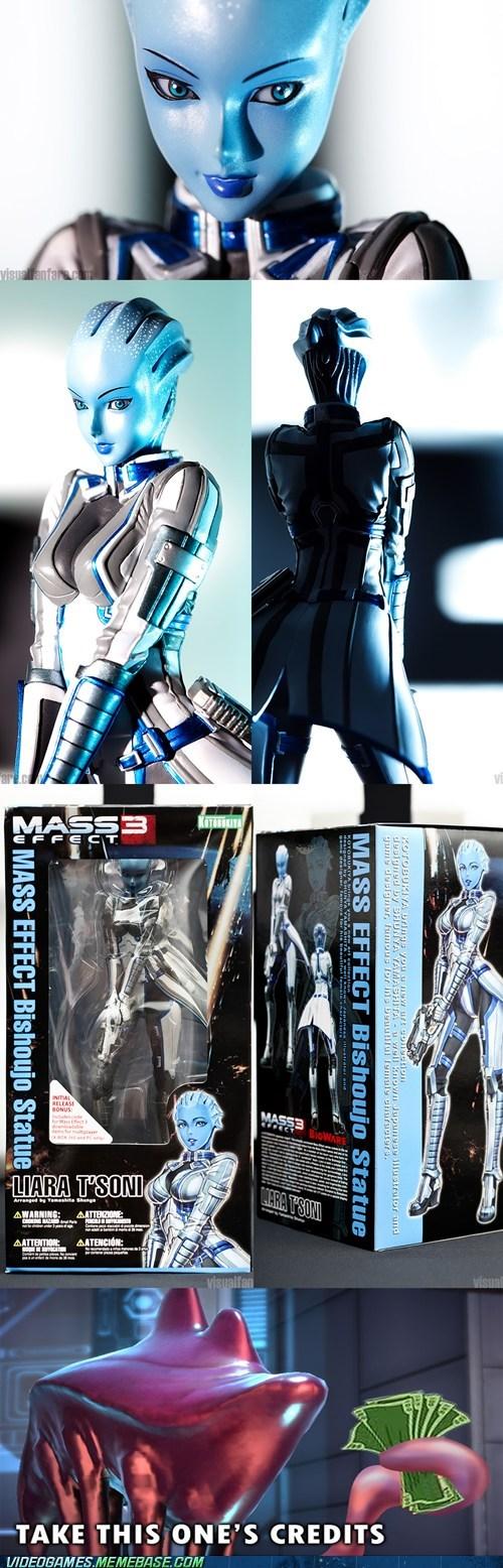 Video Games: Liara T'soni - Mass Effect