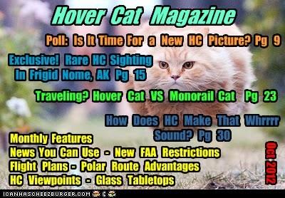 Hover Cat Magazine - Oct 2012