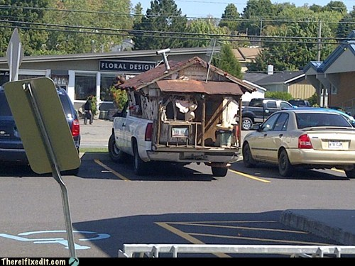 "Giving New Meaning to ""Mobile Home"""